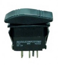 Включатель (On)-Off-(On), DPDT, 12V, 20A  SF50703-7-A1