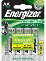 Аккумулятор ENERGIZER Power Plus NH15 2000 BP4 Pre-Ch