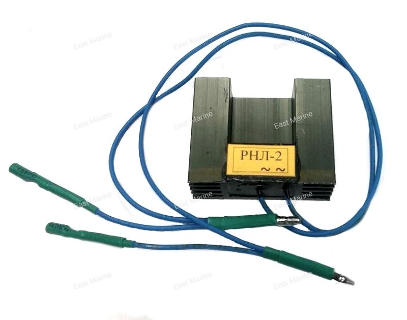 Регулятор напряжения РНЛ-2 для 2т подвесного лодочного мотора 9.9-40 с электростартером